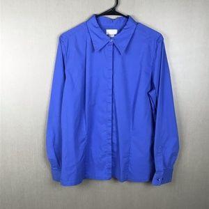 Liz Claiborne Collection Button Down Top Size 14
